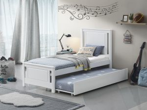 TEEN BED 301 WHITE